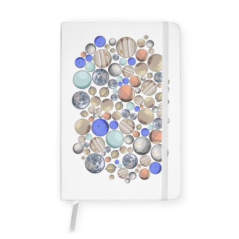 Planets Pattern Notebook