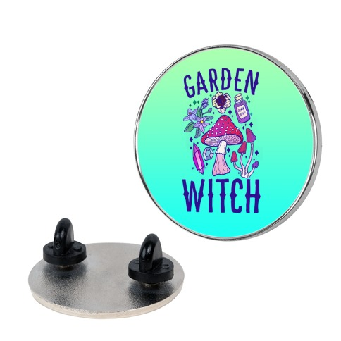 Garden Witch Pin