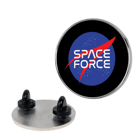 Space Force Parody pin