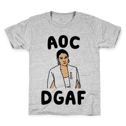 AOC DGDAF Alexandria Ocasio-Cortez Kids T-Shirt