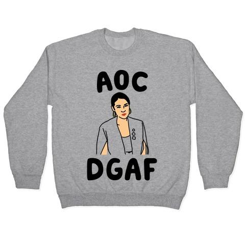 AOC DGDAF Alexandria Ocasio-Cortez Pullover