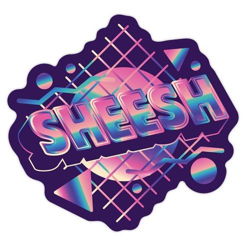 Rad Sheesh Die Cut Sticker
