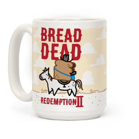 Bread Dead Redemption 2 Coffee Mug