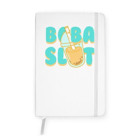 Boba Slut (blue) Notebook