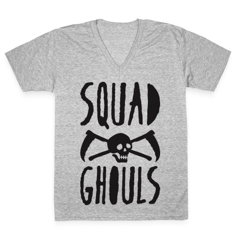 Squad Ghouls V-Neck Tee Shirt