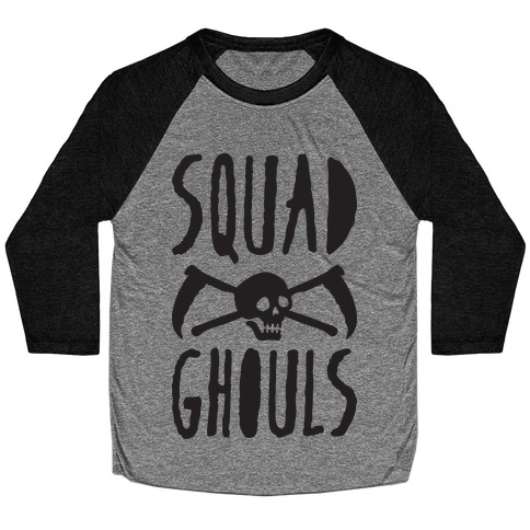 Squad Ghouls Baseball Tee