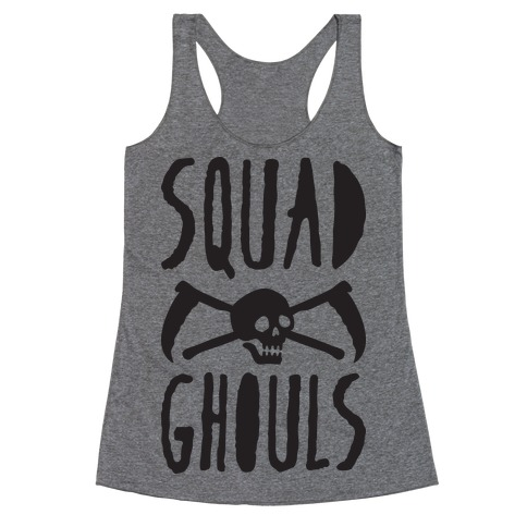 Squad Ghouls Racerback Tank Top