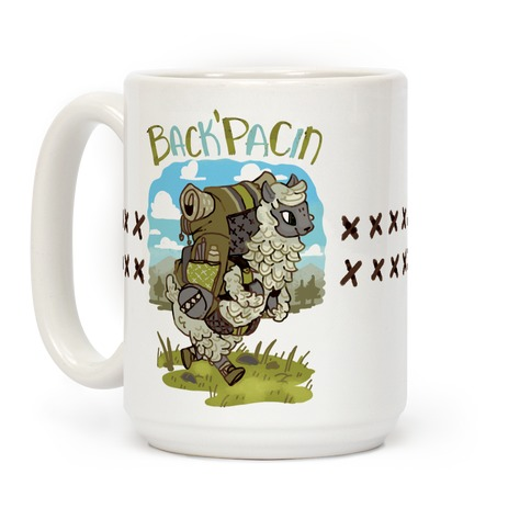Back'Pacin Alpaca Coffee Mug