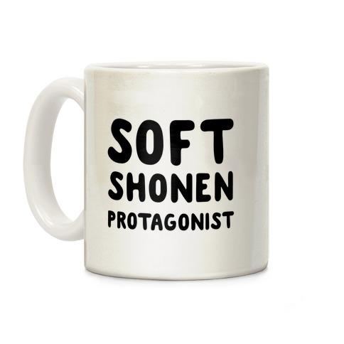 Soft Shonen Protagonist Coffee Mug