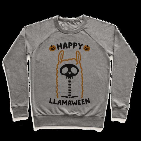 Happy Llamaween Pullover