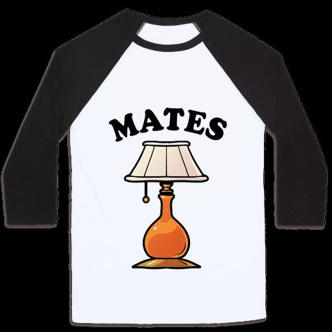 Moth & Lamp Soul Mates (2 of 2) Baseball Tee