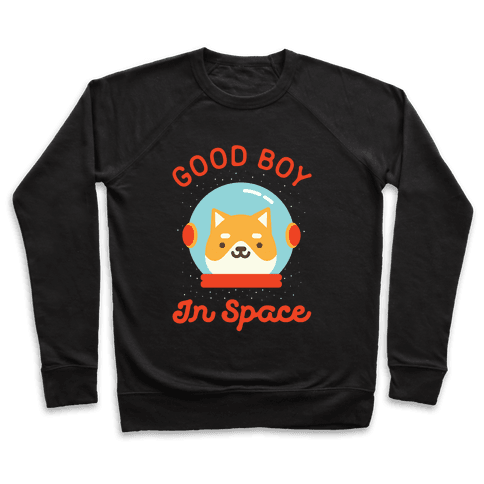 Good Boy In Space Pullover
