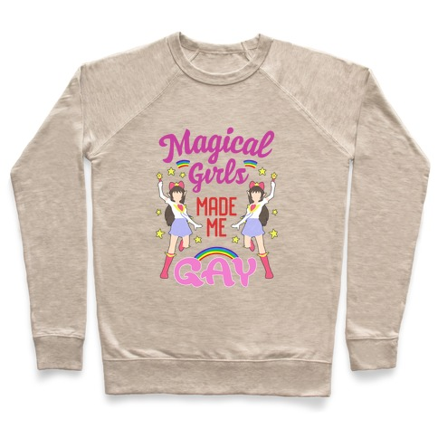 Magical Girls Made Me Gay Pullover