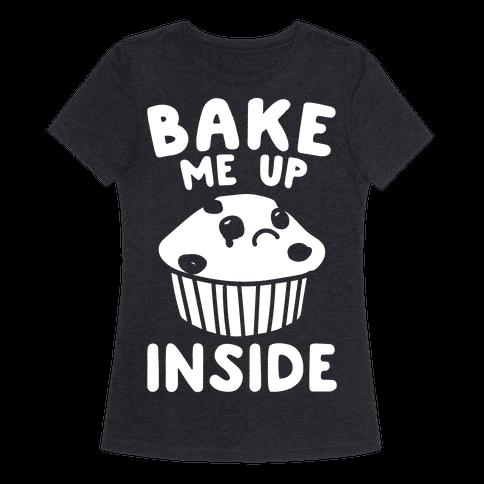 Bake Me Up Inside White Print