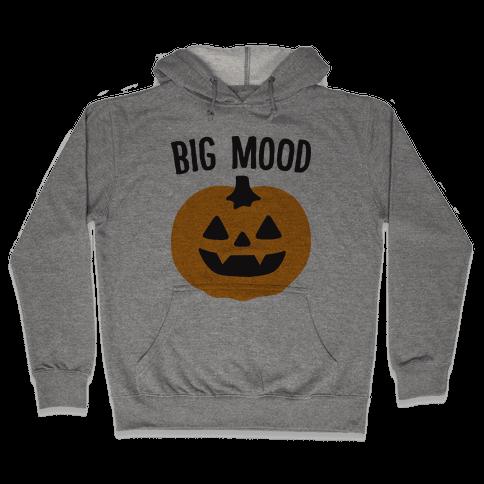 Big Mood Jack-o-lantern Hooded Sweatshirt