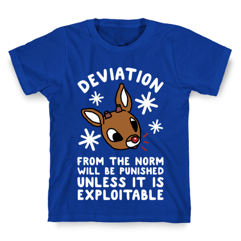 Deviation Rudolf Kids T-Shirt