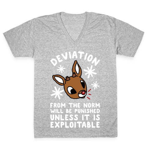 Deviation Rudolf V-Neck Tee Shirt