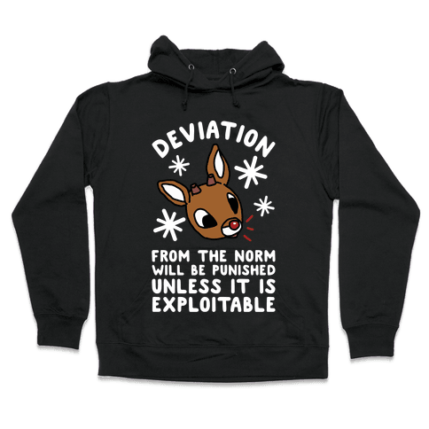 Deviation Rudolf Hooded Sweatshirt