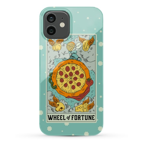 Wheel Of Fortune Pizza Phone Case