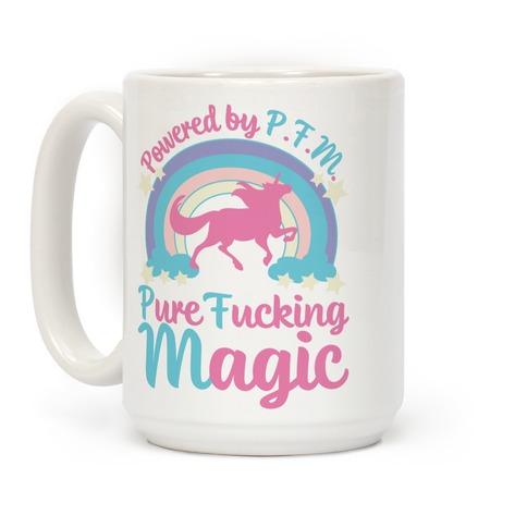 Powered by PFM Coffee Mug