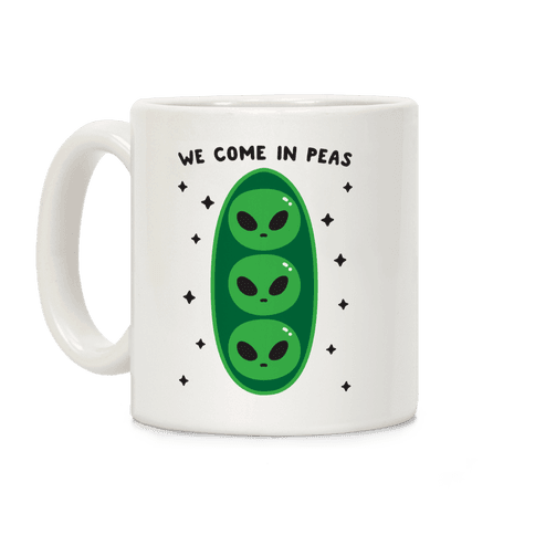 We Come In Peas Coffee Mug