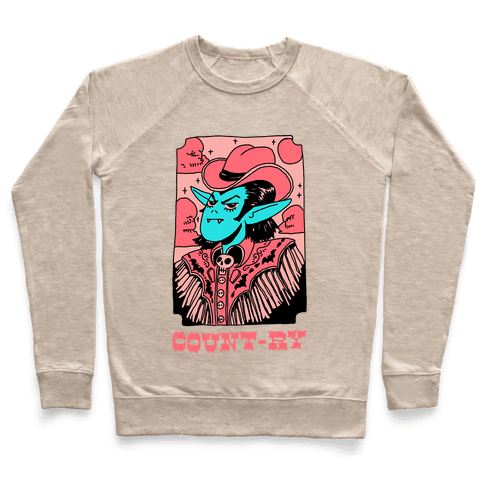 Count-ry Vampire Pullover