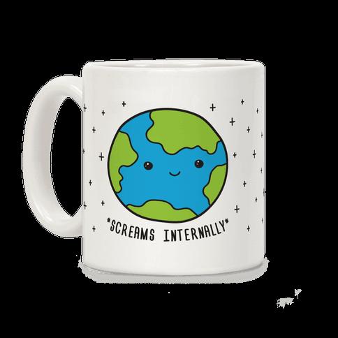 Earth Screams Internally