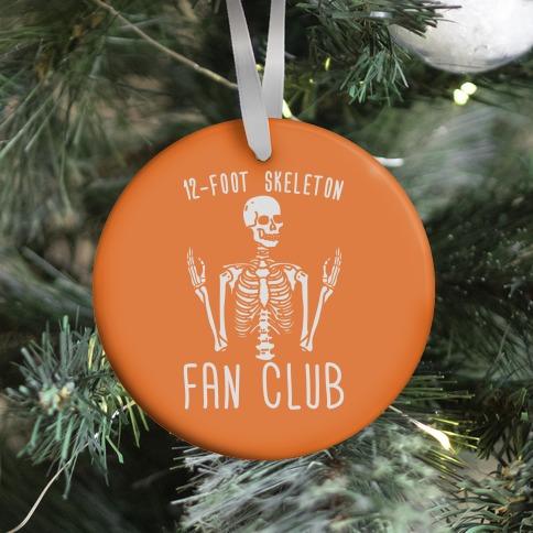 12-Foot Skeleton Fan Club Ornament