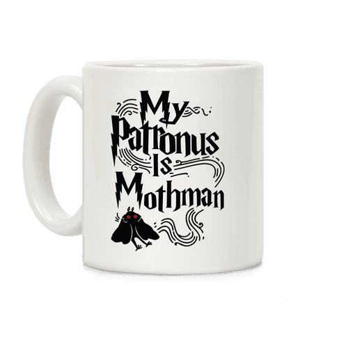 My Patronus is Mothman Coffee Mug
