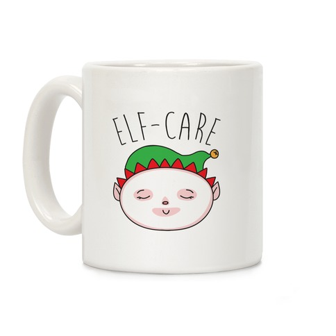 Elf-Care Elf Self-Care Christmas Parody Coffee Mug