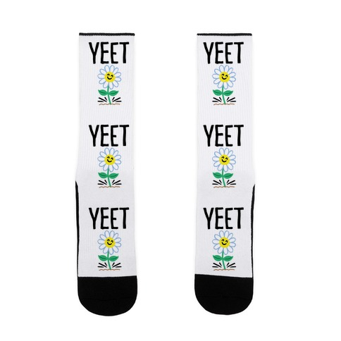 Yeet Flower Parody Sock