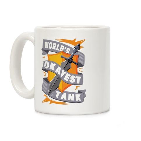 World's Okayest Tank Coffee Mug