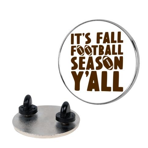 It's Fall Football Season Y'all Pin