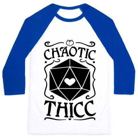 Chaotic Thicc Baseball Tee