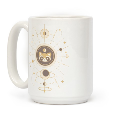 Raccoon Moon Coffee Mug