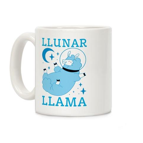 Llunar Llama Coffee Mug