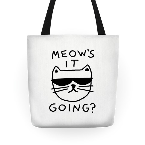 Meow's It Going Tote