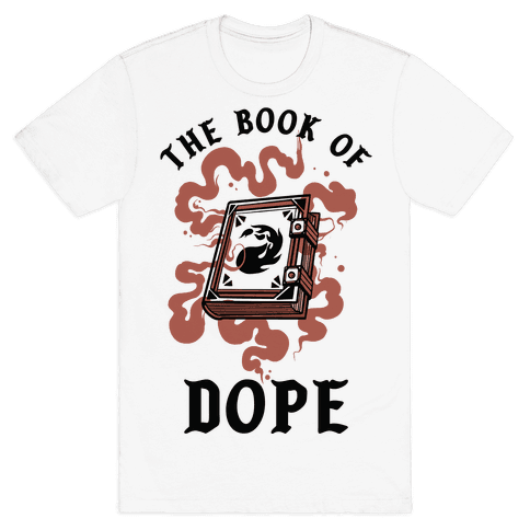 The Book Of Dope Red Magic Mens/Unisex T-Shirt