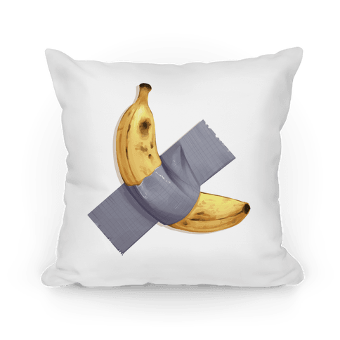 Banana Duct Tape Pillow