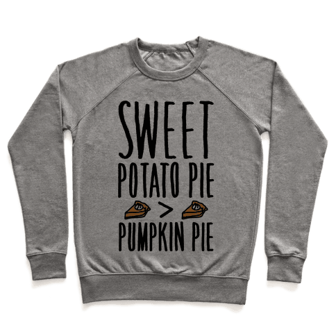 Sweet Potato Pie > Pumpkin Pie Pullover