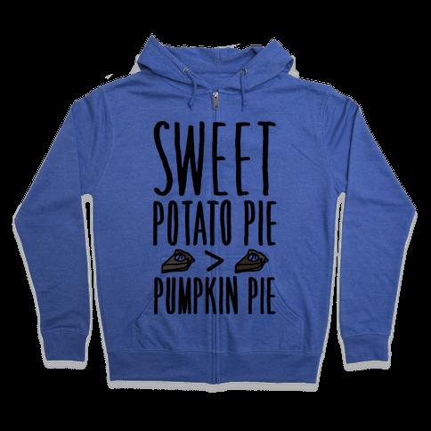 Sweet Potato Pie > Pumpkin Pie Zip Hoodie