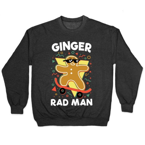 Ginger Rad Man Pullover