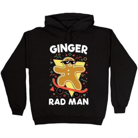 Ginger Rad Man Hooded Sweatshirt