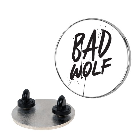 Doctor Who Bad Wolf Pin