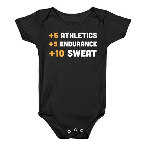 +10 Sweat Baby Onesy