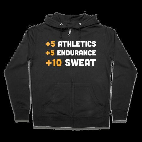 +10 Sweat Zip Hoodie