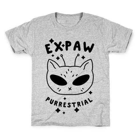 Expaw Purrestrial Kids T-Shirt