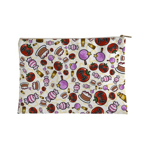 Kirby Munchies Pattern Accessory Bag