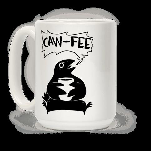 Caw-fee Coffee Mug