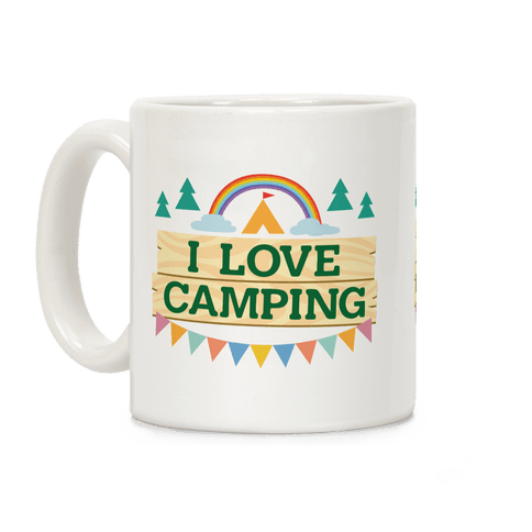I Love Camping (Pocket Camp Parody) Coffee Mug